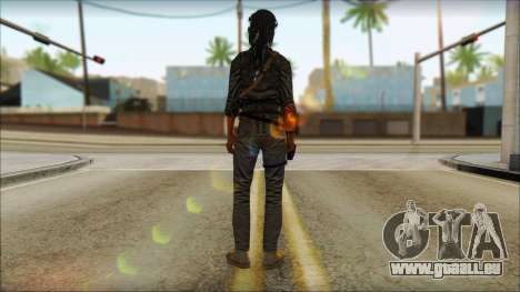 Tomb Raider Skin 3 2013 pour GTA San Andreas deuxième écran