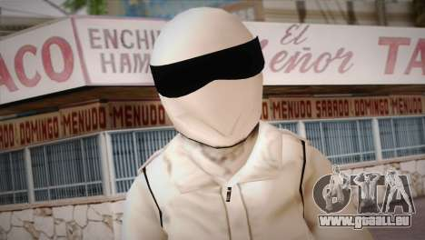 The Stig from Top Gear für GTA San Andreas dritten Screenshot