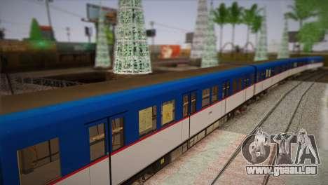 MRT-2 pour GTA San Andreas sur la vue arrière gauche