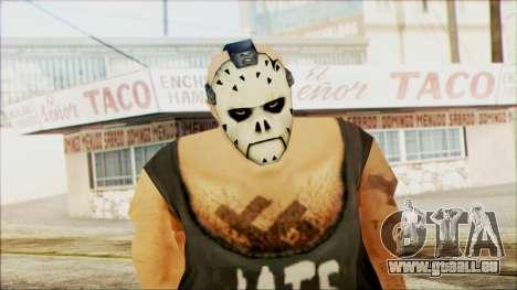 Manhunt Ped 11 pour GTA San Andreas troisième écran