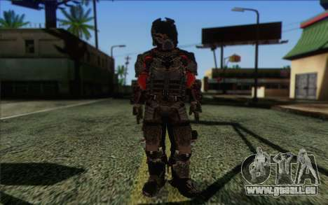John Carver from Dead Space 3 pour GTA San Andreas