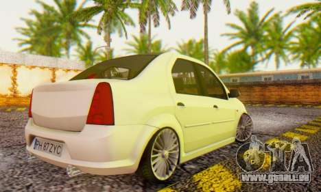 Dacia Logan ZYCU pour GTA San Andreas laissé vue