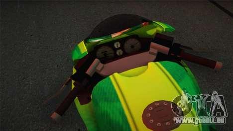 Bati RR 801 Sprunk pour GTA San Andreas sur la vue arrière gauche