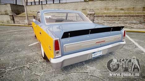 Chevrolet II Nova SS 1966 Custom [EPM] PJ1 für GTA 4 hinten links Ansicht