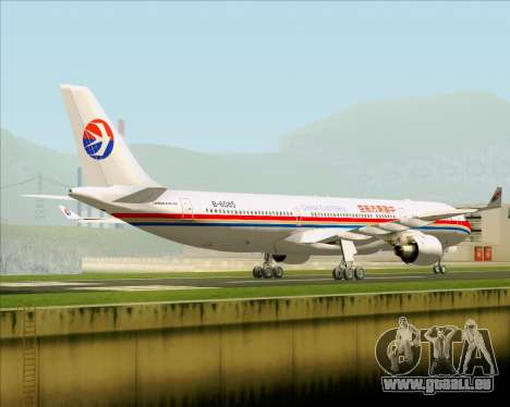 Airbus A330-300 China Eastern Airlines pour GTA San Andreas vue de droite