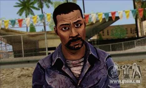 Lee from Walking Dead für GTA San Andreas dritten Screenshot
