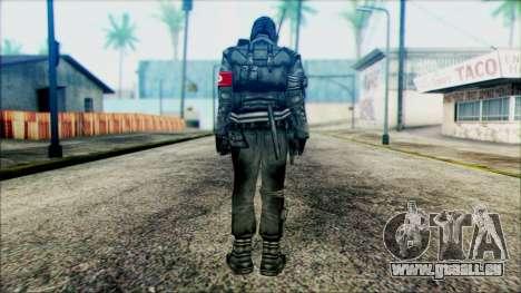 Manhunt Ped 1 pour GTA San Andreas deuxième écran