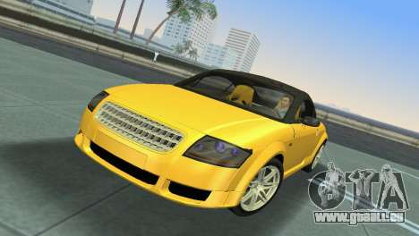 Audi TT Coupe BiMotor Black Revel für GTA Vice City linke Ansicht