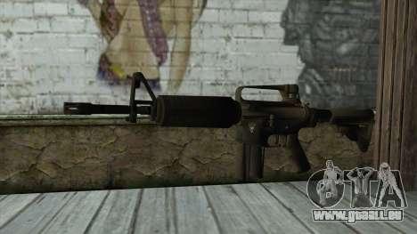TheCrazyGamer M16A2 pour GTA San Andreas