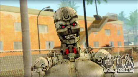 T900 (Terminator 3: la guerre des machines) pour GTA San Andreas troisième écran