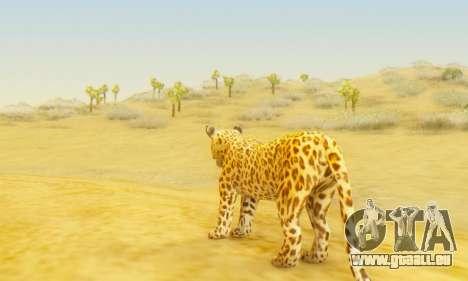 Leopard (Mammal) pour GTA San Andreas troisième écran