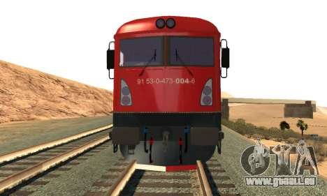 Le 6600 Kw-Phoenix pour GTA San Andreas laissé vue