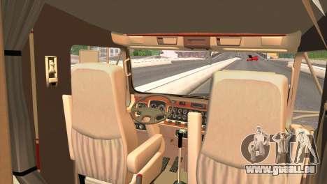 Kenworth T800 Road Train 8X6 pour GTA San Andreas vue de droite