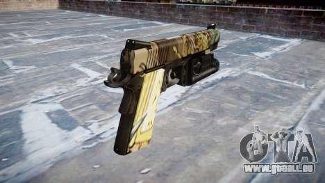 Gun Kimber 1911 Ronin für GTA 4 Sekunden Bildschirm