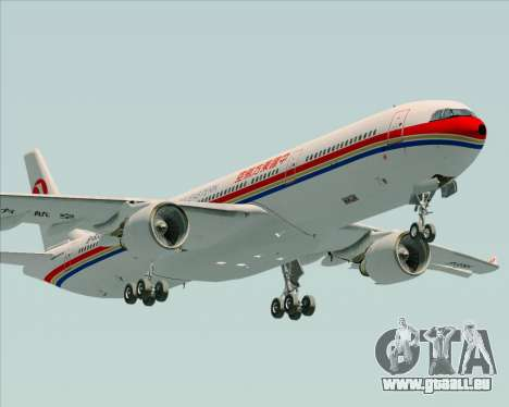 Airbus A330-300 China Eastern Airlines pour GTA San Andreas vue intérieure