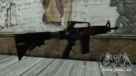 TheCrazyGamer M16A2 pour GTA San Andreas deuxième écran