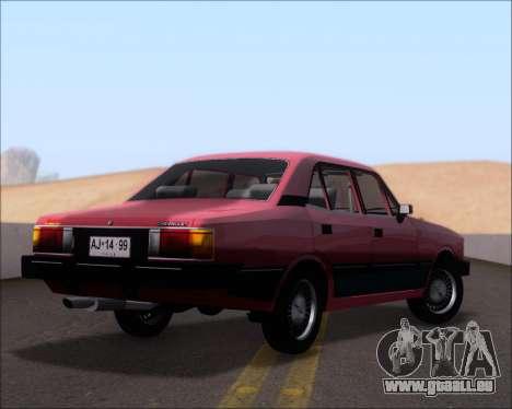 Chevrolet Opala Diplomata 1987 pour GTA San Andreas vue de droite