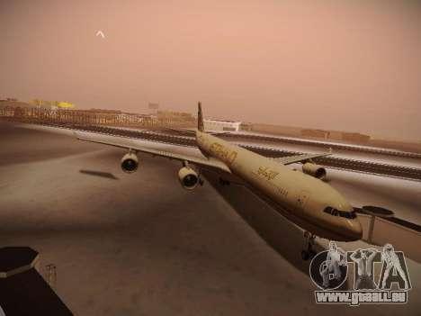 Airbus A340-600 Etihad Airways pour GTA San Andreas laissé vue