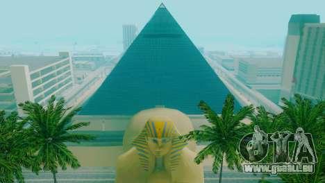 Neue Texturen der Pyramide in Las Venturas für GTA San Andreas