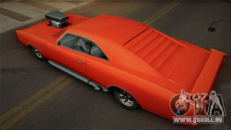 GTA 4 Dukes Tunable für GTA San Andreas obere Ansicht