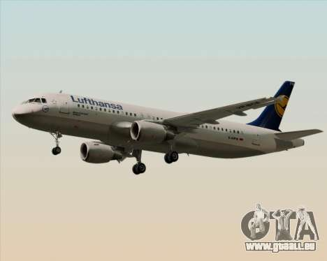 Airbus A320-211 Lufthansa für GTA San Andreas