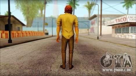 Bigdy Wolf pour GTA San Andreas deuxième écran