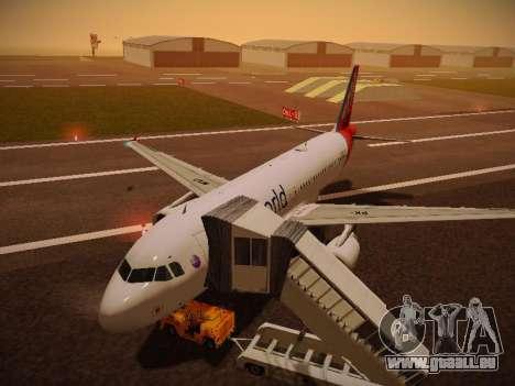 Airbus A320-214 TAM Oneworld für GTA San Andreas