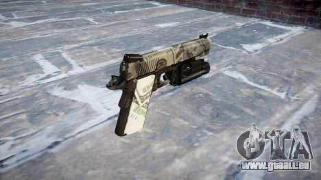 Gun Kimber 1911 Benjamins für GTA 4 Sekunden Bildschirm