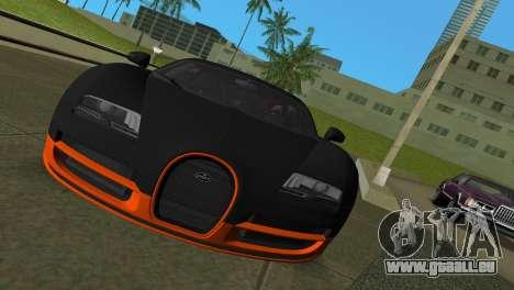 Bugatti Veyron Super Sport pour une vue GTA Vice City de la gauche