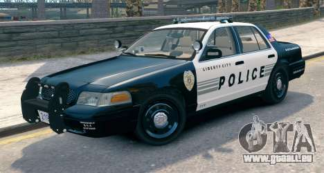 Ford Crown Victoria LCPD [ELS] Pushbar pour GTA 4