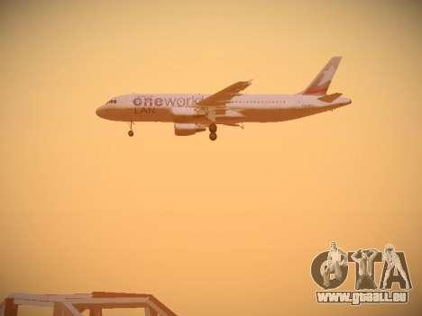 Airbus A320-214 LAN Oneworld pour GTA San Andreas moteur