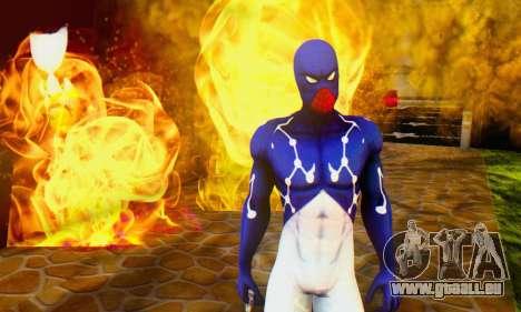 Skin The Amazing Spider Man 2 - Suit Cosmic für GTA San Andreas