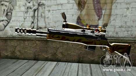 Nitro Sniper Rifle pour GTA San Andreas