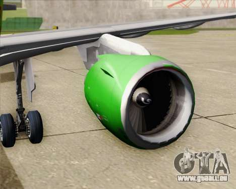Airbus A320-214 S7-Siberia Airlines pour GTA San Andreas salon