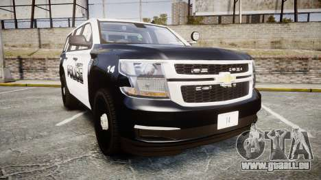Chevrolet Tahoe 2015 Liberty Police [ELS] pour GTA 4