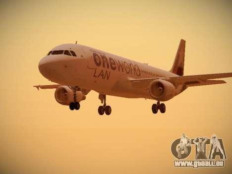 Airbus A320-214 LAN Oneworld für GTA San Andreas