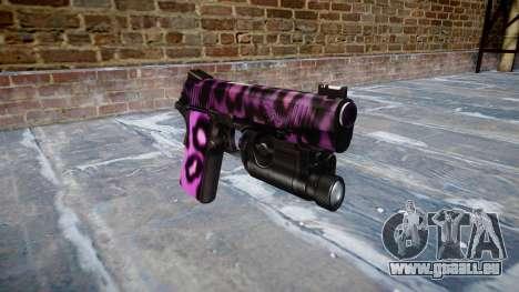 Gun Kimber 1911 Party-Rock für GTA 4