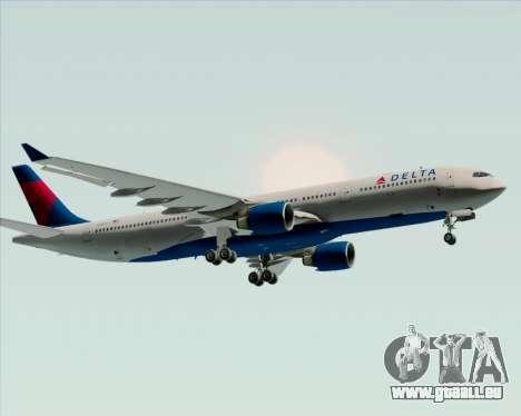 Airbus A330-300 Delta Airlines pour GTA San Andreas vue arrière