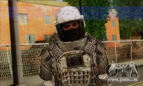 Task Force 141 (CoD: MW 2) Skin 3 pour GTA San Andreas troisième écran