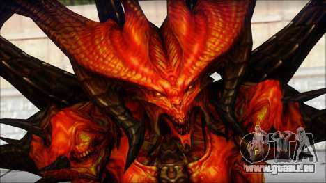 Diablo From Diablo III pour GTA San Andreas troisième écran