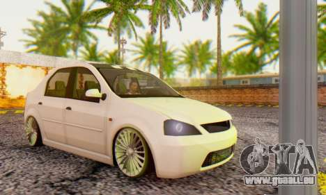 Dacia Logan ZYCU pour GTA San Andreas