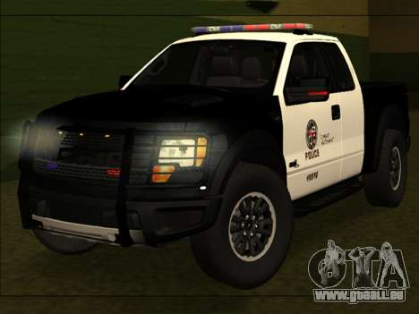 LAPD Ford F-150 Raptor pour GTA San Andreas