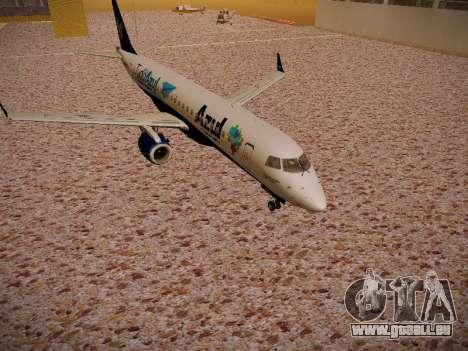 Embraer E190 Azul Tudo Azul pour GTA San Andreas laissé vue