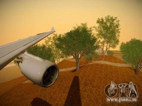 Airbus A330-200 Jetstar Airways pour GTA San Andreas moteur