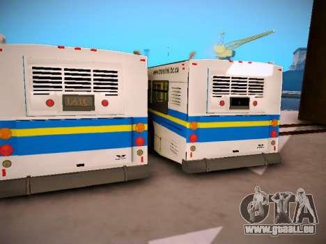 NewFlyer D40LF TransLink Vancouver BC für GTA San Andreas Innenansicht