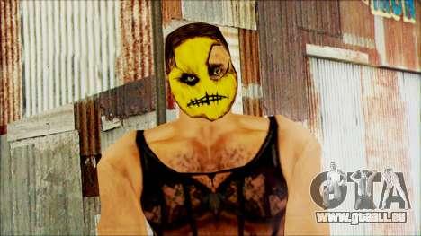 Manhunt Ped 14 pour GTA San Andreas troisième écran