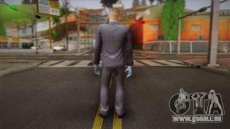 Hoxton From Pay Day 2 v2 pour GTA San Andreas deuxième écran
