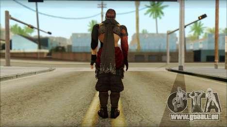 Ryu True Fighter From Dead Or Alive 5 für GTA San Andreas zweiten Screenshot