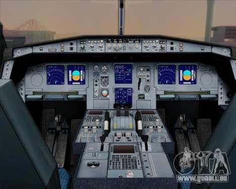 Airbus A330-300 Singapore Airlines für GTA San Andreas Innen