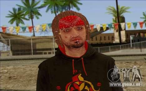 GTA 5 Wade Hebert pour GTA San Andreas troisième écran